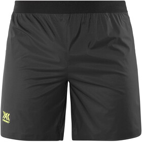 X-Bionic Aero Running Pants Short Men Black/Neon Yellow